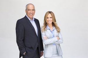 Corey Nickols Takes Photos of Dana Walden and Gary Newman