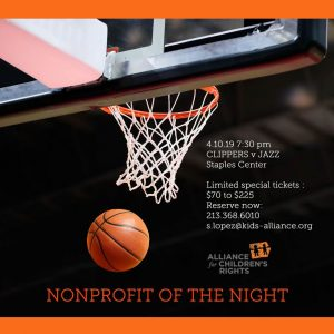 Nonprofit of the Night: Clippers v. Utah Jazz @ Staples Center