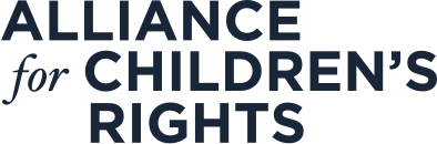 Alliance for Children's Rights Logo Dark