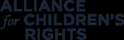 Alliance for Children's Rights Logo Dark