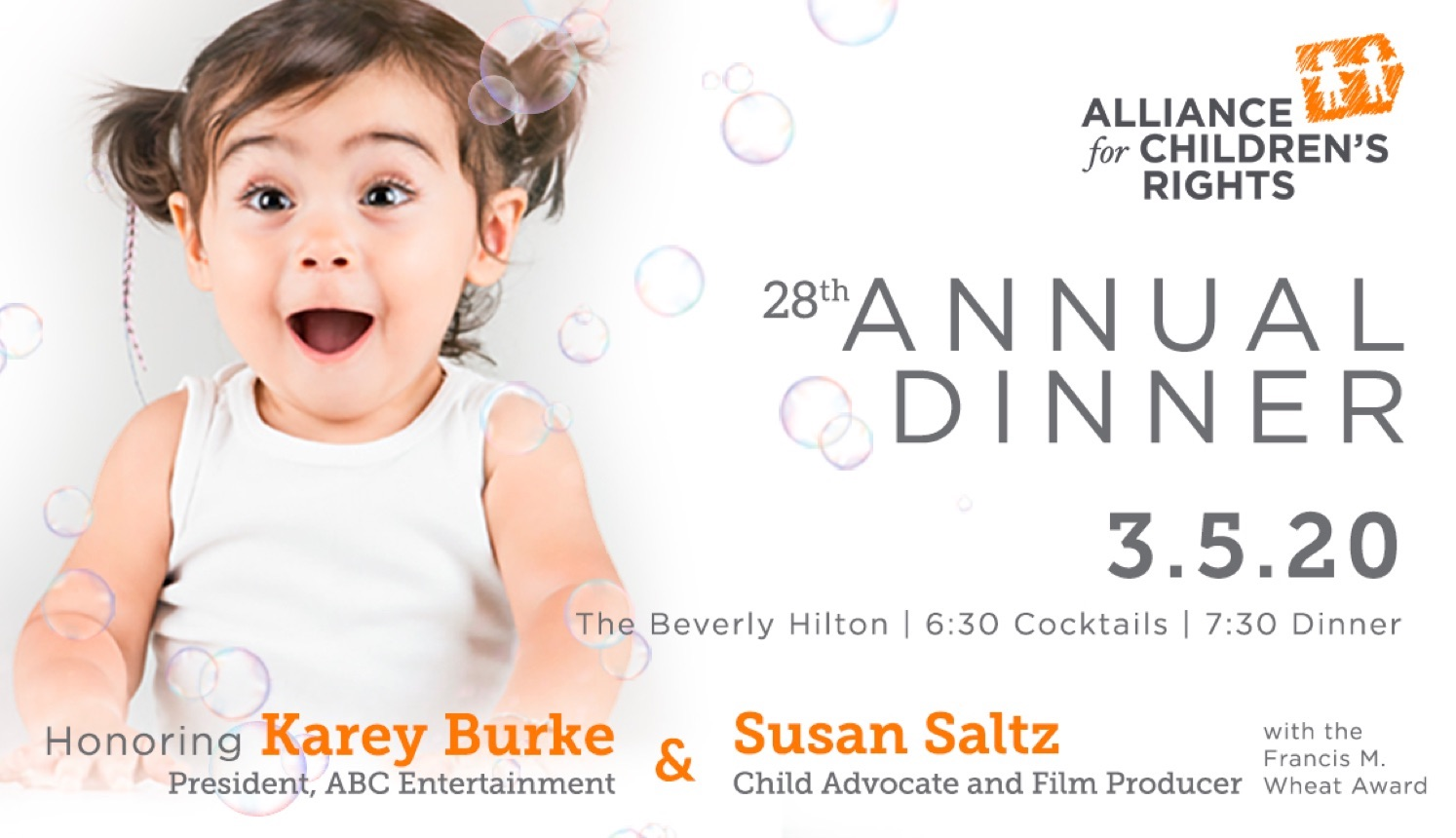 Alliance for Children's Rights 28th annual dinner