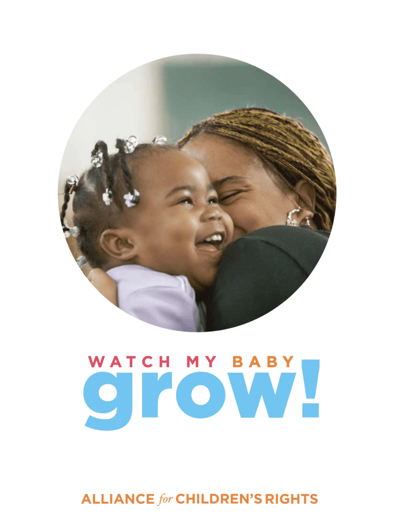 Watch My Baby Grow Toolkit Cover