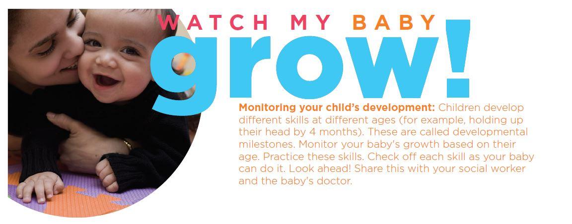 Developmental Milestones: Watch My Baby Grow
